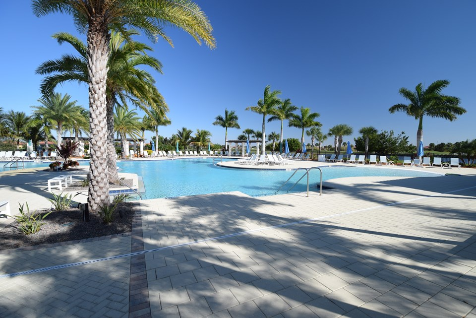 resort style heated community pool